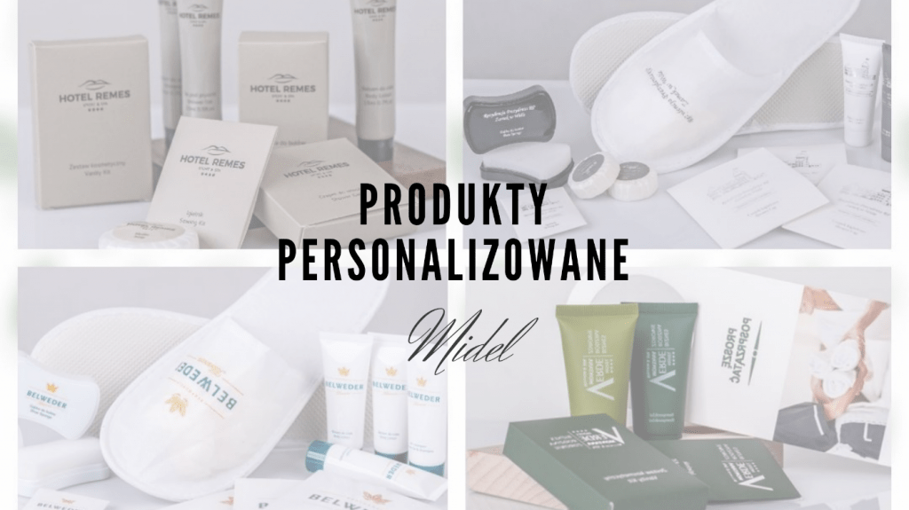 Produkty personalizowane Midel